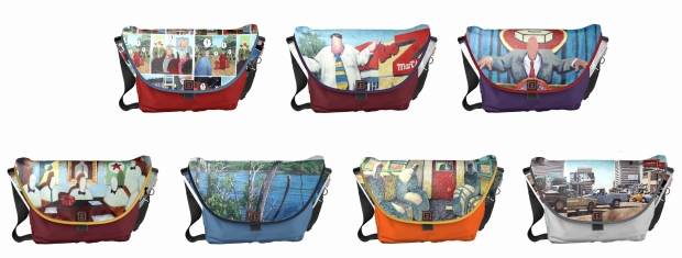 designer fashion bags messenger bags commuter bag new trend