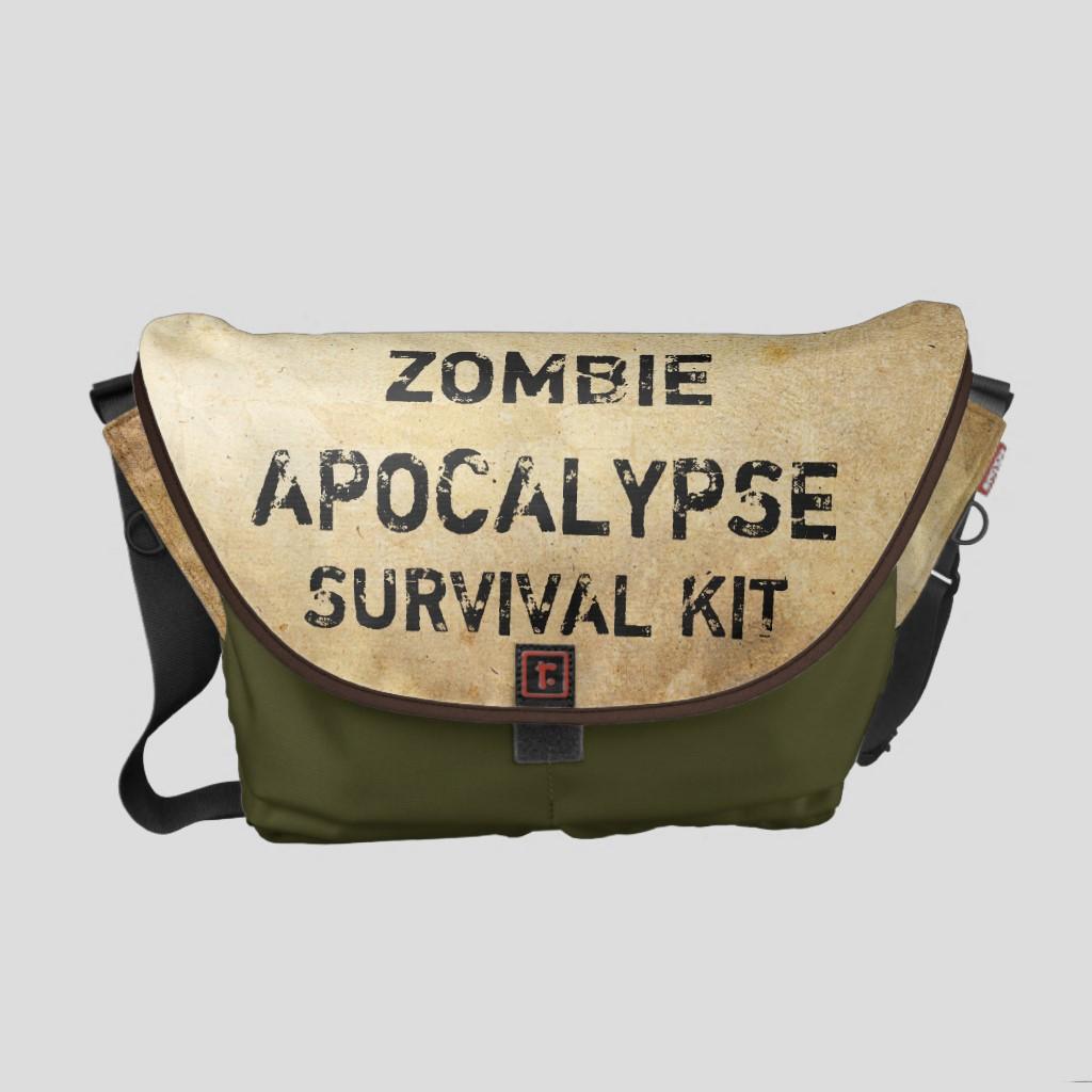 List of zombie survival supplies list