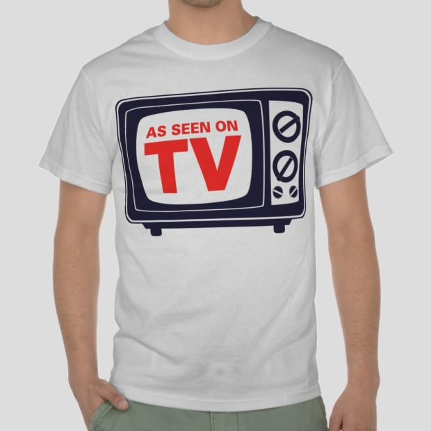 as seen on tv t-shirt cool retro