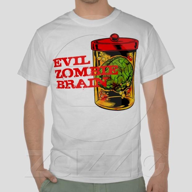 evil zombie brain