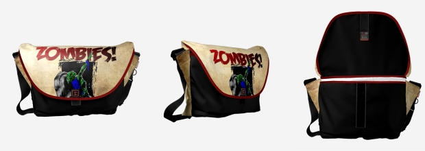 zombie fashion messenger bag style apocalypse