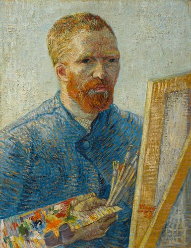 """""""Self-portrait,"""" from 1887-1888"""