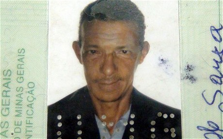 Joao Maria de Souza, 45, died from internal bleeding while still waiting to be seen by doctors, according to his family (SUPER CANAL TV )